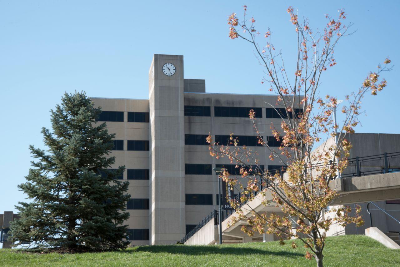 The Lucas Administrative Center building