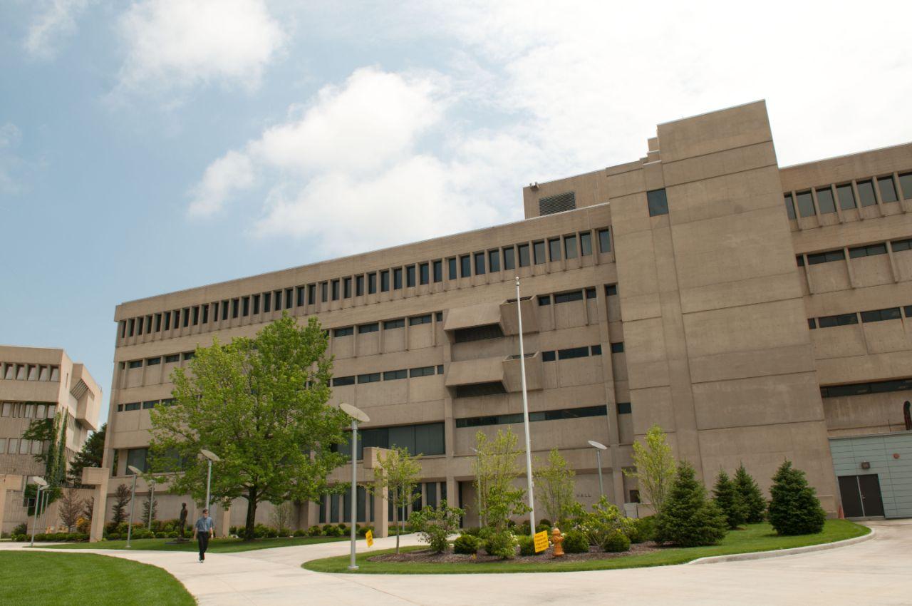 Front of Louie B. Nunn Hall