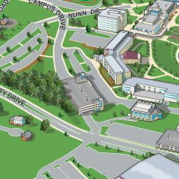 Kentucky Campus Map.Northern Kentucky University Anymap