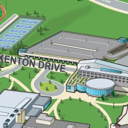 Northern Kentucky University Campus Map Northern Kentucky University