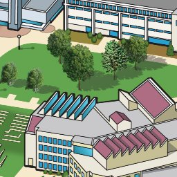 Northern Kentucky University Campus Map.Northern Kentucky University Anymap